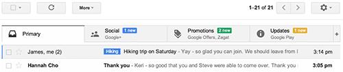 Inbox Terbaru Gmail Desktop