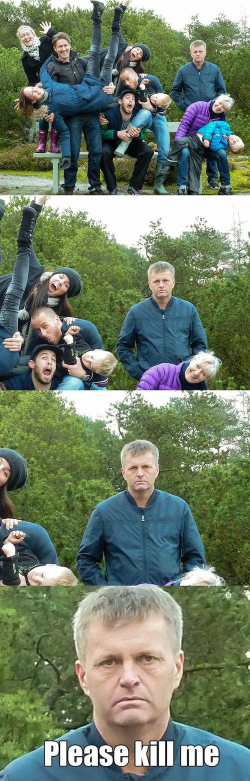 10 Foto Keluarga Yang Terlihat Kacau 8