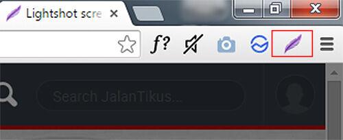 Lightshot Ekstension Chrome Untuk Screenshot 2