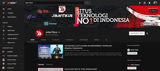 Jangan Lupa Atur Layout Homepage YouTube