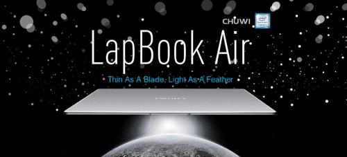 Harga Dan Spesifikasi Chuwi Lapbook Air 1