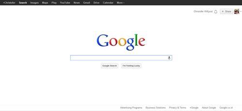 Cara Mengubah Logo Google Menjadi Nama Sendiri