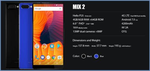 Smartphone Tiruan Xiaomi Mi Mix 2 1
