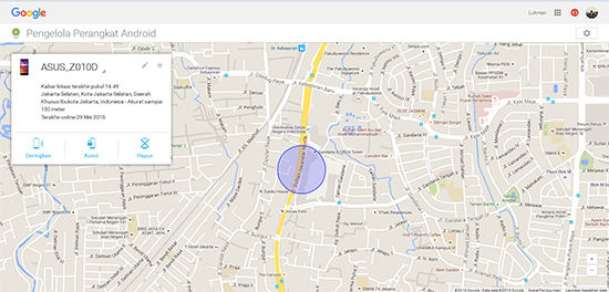 fitur android device manager