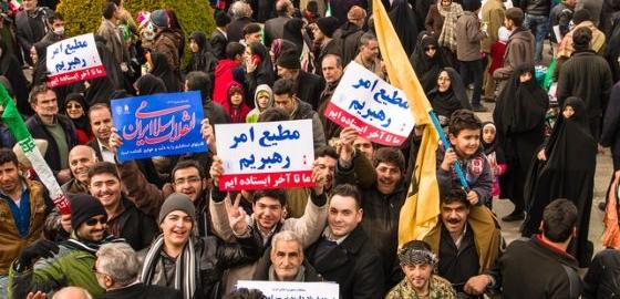 anonymous melawan pemerintah iran
