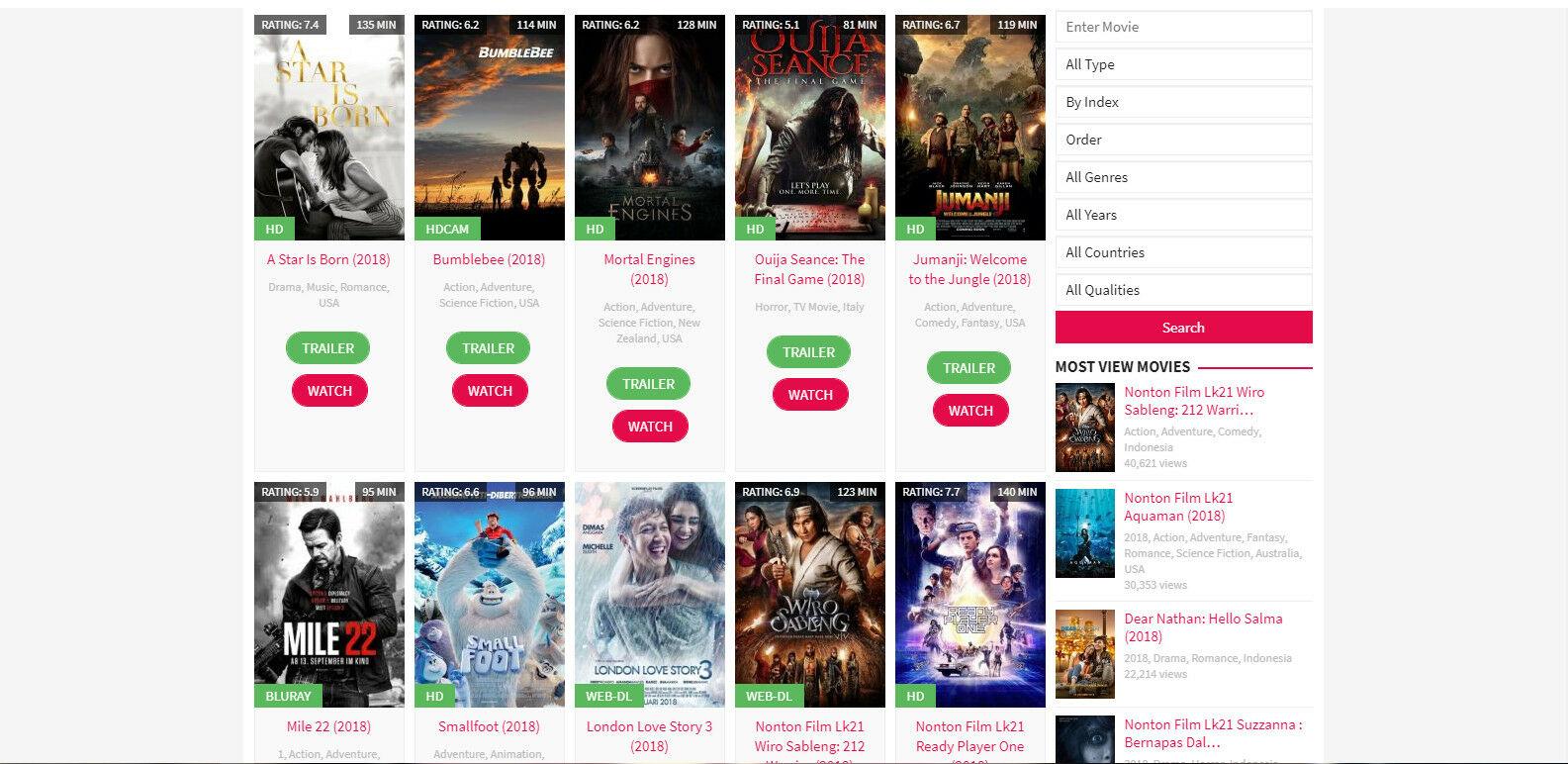 16 Situs Download Film Terbaru & Terbaik 2019   Nonton Gratis