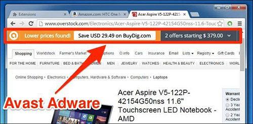 Antivirus Browser Extension 3