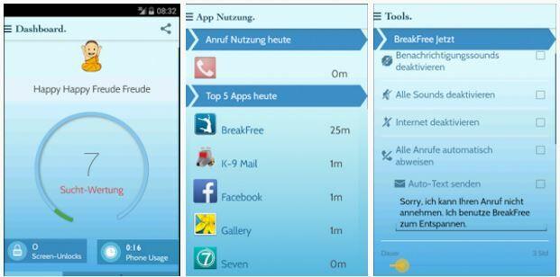 Aplikasi untuk mengurangi kecanduan smartphone, BreakFree