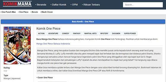 7 Situs Baca Komik One Piece Bahasa Indonesia Jalantikus Com