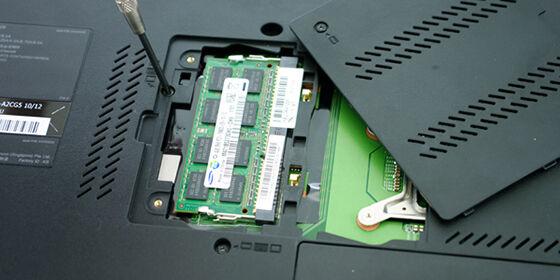 tips membeli laptop -upgrade ram