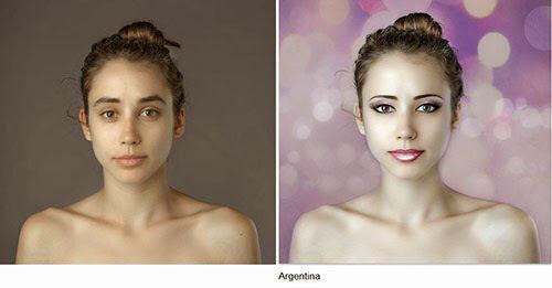 Wanita Ini Jadi Korbang Photoshop 25 Negara 24