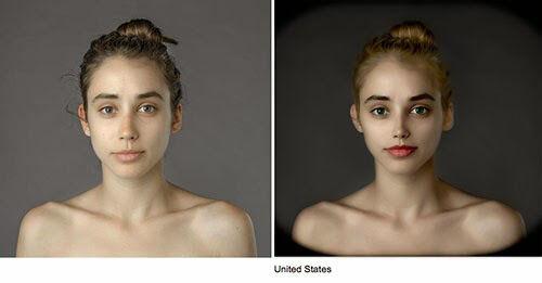 Wanita Ini Jadi Korbang Photoshop 25 Negara 3