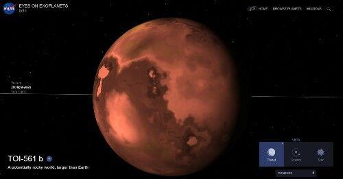 Exoplanet 1 B2589