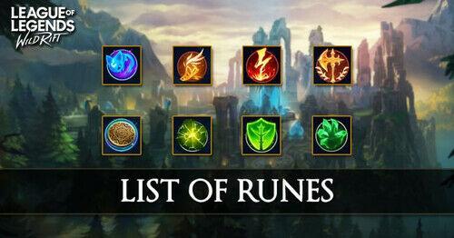 Runes Wild Rift 869dd