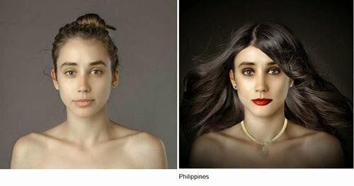 Wanita Ini Jadi Korbang Photoshop 25 Negara 19