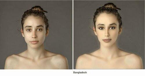 Wanita Ini Jadi Korbang Photoshop 25 Negara 23