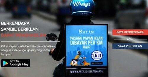 Pasang Iklan Di Motor Atau Mobil 1