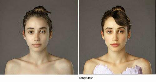 Wanita Ini Jadi Korbang Photoshop 25 Negara 22