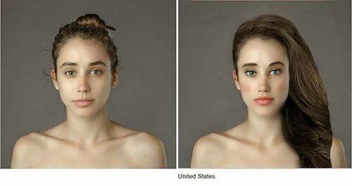 Wanita Ini Jadi Korbang Photoshop 25 Negara 6