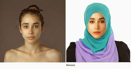 Wanita Ini Jadi Korbang Photoshop 25 Negara 13