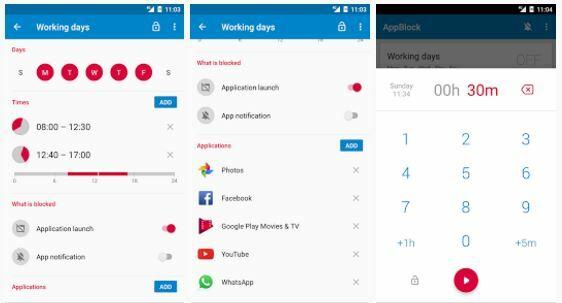 Aplikasi untuk mengurangi kecanduan smartphone, App Block - Stay Focused