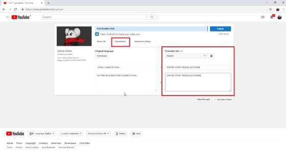 Cara Upload Video Ke Youtube Di Pc Hp Panduan Lengkap Jalantikus