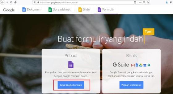Cara Membuat Google Form Di Pc Hp Terlengkap 2020 Jalantikus
