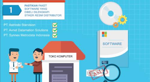 Cara Membedakan Software Asli Dan Bajakan 1