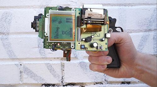 8 Bit Instant Camera Gun 1