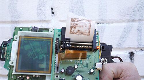 8 Bit Instant Camera Gun 2