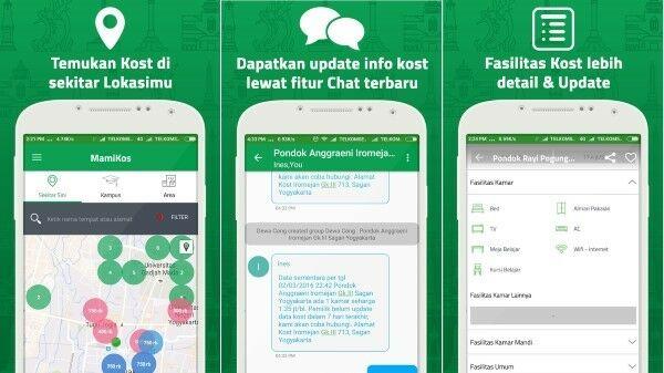 Ini Dia 4 Aplikasi Cari Kost Online Terbaik Di Android
