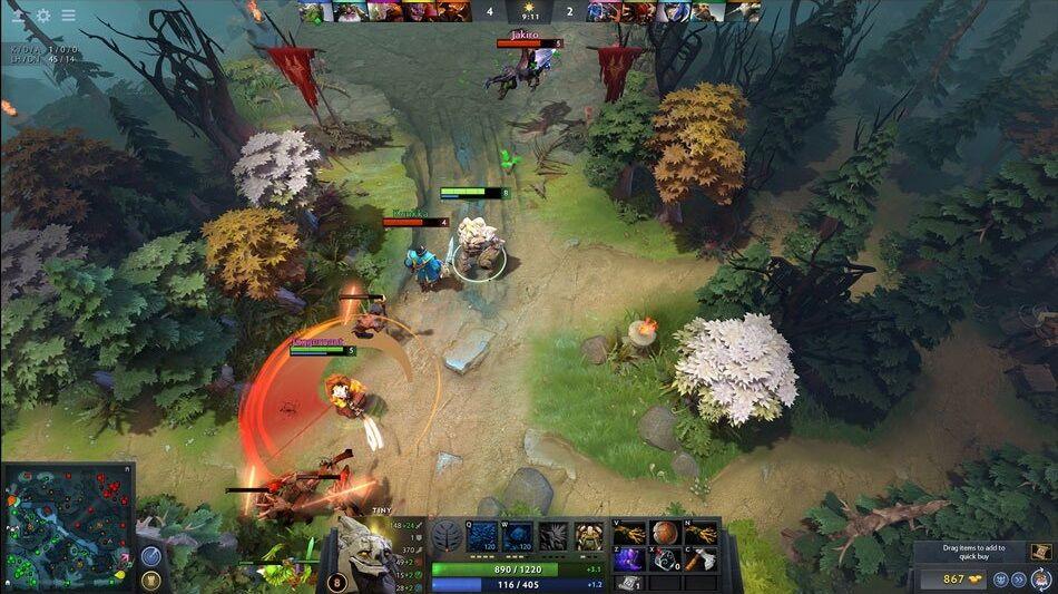 gambar game dota 2 Game Online Terbaik Wajib Di Mainkan