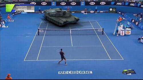 Djokovic Vs Tank 1