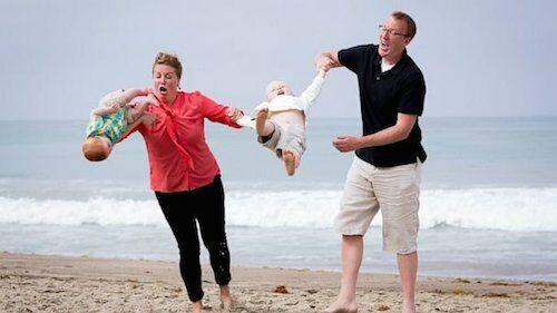10 Foto Keluarga Yang Terlihat Kacau 6
