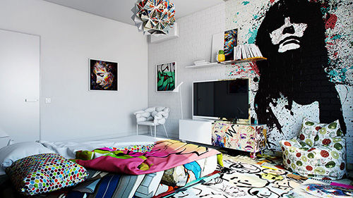Hotel Room Graffiti 5