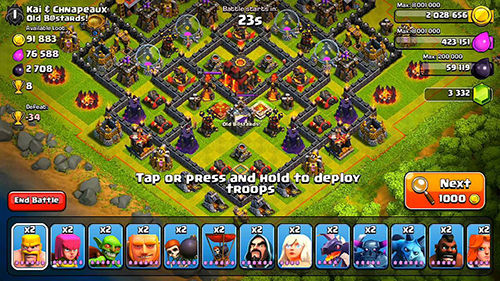 Coc Base Attacked