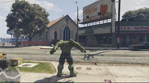 Hulk Gta V 1