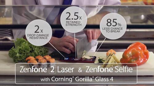 Layar Asus Zenfone 2 Laser Asus Zenfone Selfie Untuk Alas Pisau Sushi 2