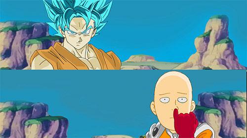 Saitama Vs Goku 1