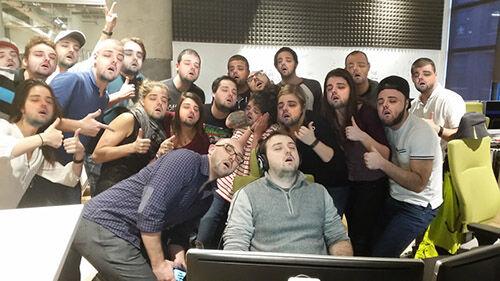 Photoshop Tidur Di Kantor 2