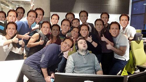 Photoshop Tidur Di Kantor 4