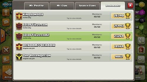 Fitur Update Clash Royale 4
