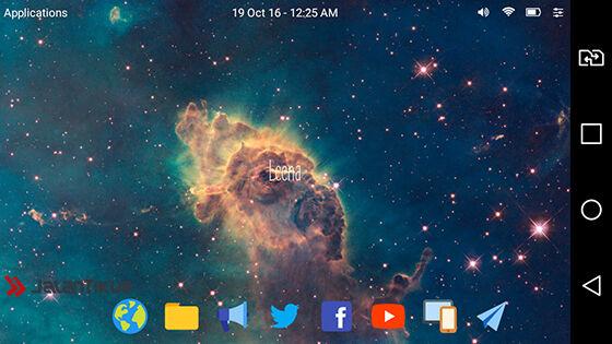 membuat tampilan android jadi macbook 6