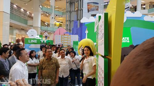 Line Creativate 2016 Ajang Kreativitas Indonesia 2