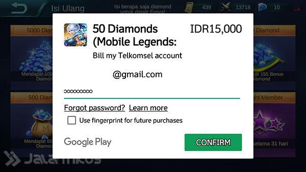 Cara Beli Diamonds Mobile Legends Pakai Pulsa Tanpa Kartu Kredit