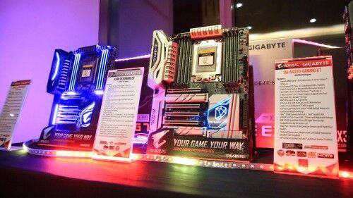 Peresmian Motherboard Gigabyte X399 Series 1