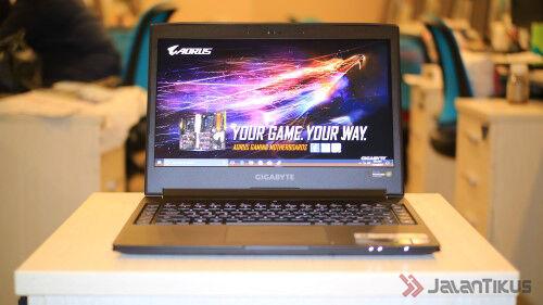 Gigabyte Aero Series Laptop Gaming Tipis 9 Wm