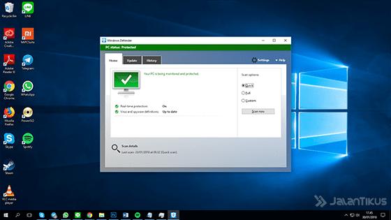 Windows Defender Penghapus Malware