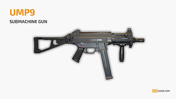 Ump Submachine Gun