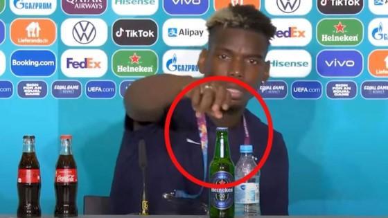 Singkirkan Botol Bir di Euro 2020, Paul Pogba Ngikutin Ronaldo?   Jalantikus